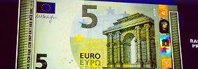Fälscher aufgepasst!: Neue Euro-Noten für Europa