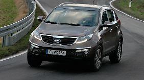 Der Kia Sportage gehörte 2012 zu den Top Five der Import-SUV.