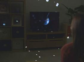 Sterne im Raum: Auch das ist mit IllumiRoom möglich.