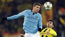 Initiativbewerbung Richtung BVB?: Dzeko will in die Bundesliga