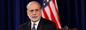 Beunruhigt: Ben Bernanke.