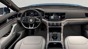 Mit Softtouchschaltern erleichtert VW im CrossBlue die Bedienung.