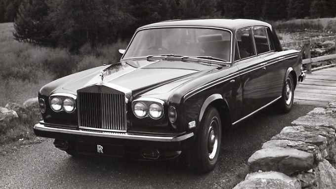 Schon schön: ein Rolls-Royce Silver Shadow von 1974.