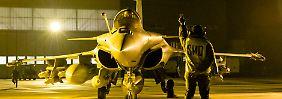 Einsatzbereit: Ein französischer Rafale-Jet.
