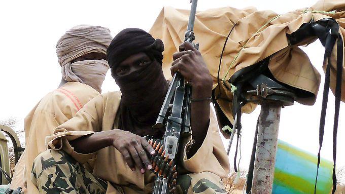Die Kämpfer von Ansar Dine haben viele wichtige Städte in Nord-Mali erobert.