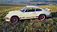 ... der 1972 lancierte 911 Carrera RS mit berühmt-berüchtigten Entenbürzel und 210 PS starkem 2,7-Liter-Boxer.