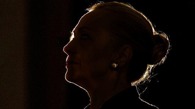 Hillary Clinton ist viel unterwegs.