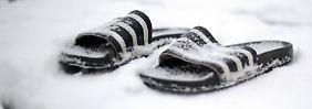 Unfälle und Kältetote: Schnee bleibt noch liegen