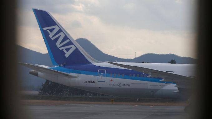 """Die japanische Ana ist eine der Airlines, die den """"Dreamliner"""" schon einsetzten."""