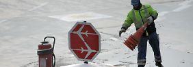 Blitzeis sucht den Südwesten heim: Vereinzelte Flüge in Frankfurt