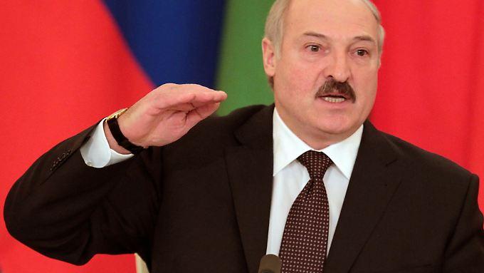 Duldet keine Widerworte in Weißrussland: Alexander Lukaschenko, Europas letzter Diktator.