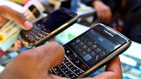 Blackberry-Hersteller: RIM kämpft um Existenz