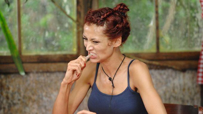 Fiona Erdmann wollte sich doch keine Genitalien in den Mund stecken.
