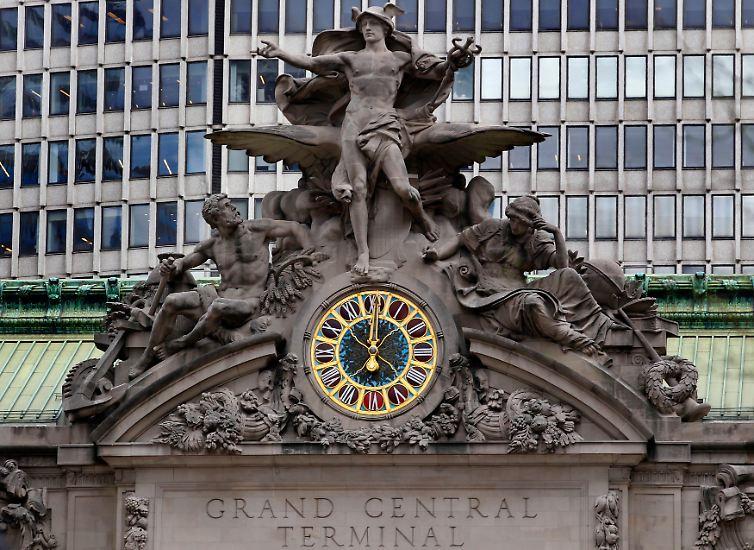 Der New Yorker Grand Central Terminal ist nicht einfach nur irgendein Bahnhof - er ist ...
