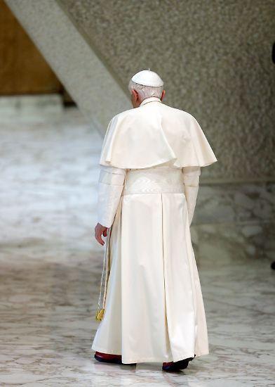 Das war's. Zum 28. Februar gibt Benedikt XVI. sein Pontifikat auf.