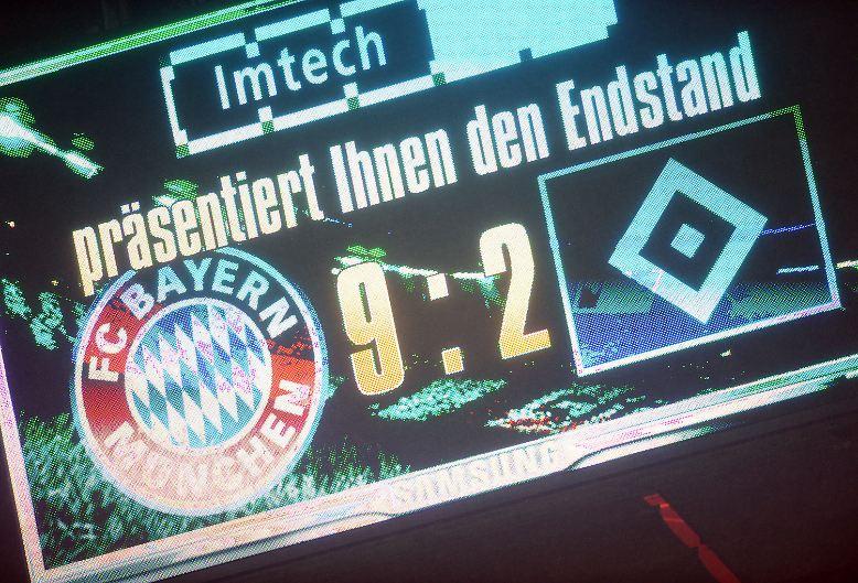 FC Bayern - Hamburger SV 9:2 (5:0)