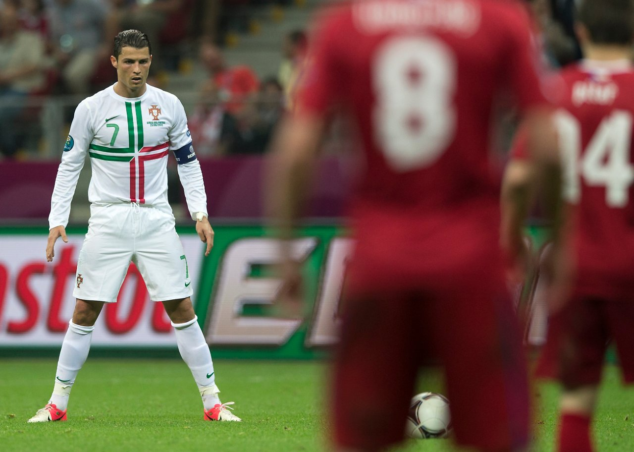 Cristiano Ronaldo Freistoß