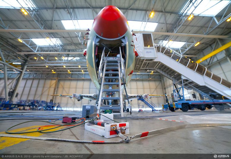 In der Luftfahrtindustrie steigt die Spannung: Der europäische Flugzeugbauer Airbus bereitet sich auf die Markteinführung seines nächsten großen Prestigeprojekts vor.