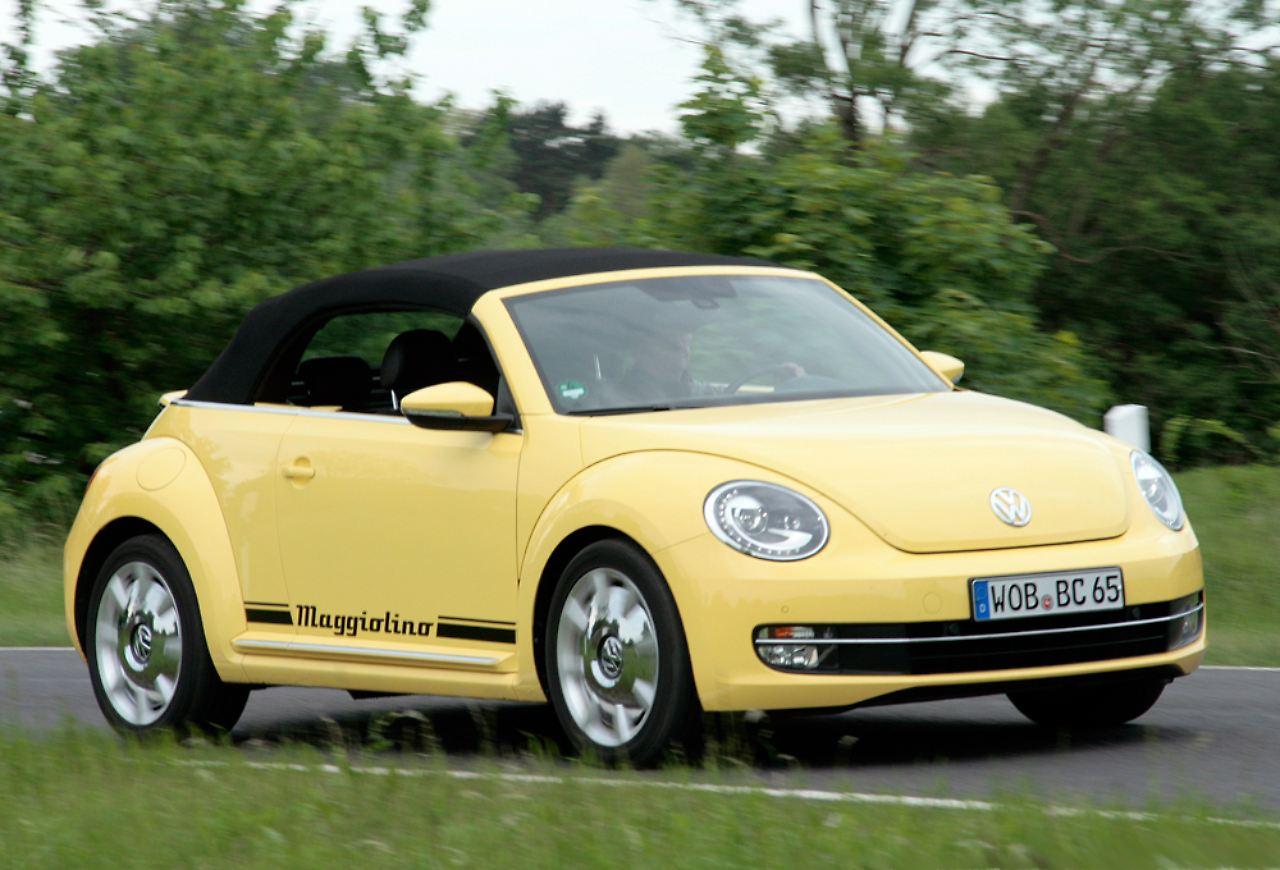 nostalgie f r sonnenanbeter beetle cabrio 1 6 tdi bietet fahrspa n. Black Bedroom Furniture Sets. Home Design Ideas