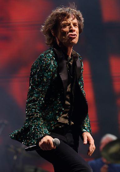 Wenn man Mick Jagger heute so auf der Bühne sieht, ...