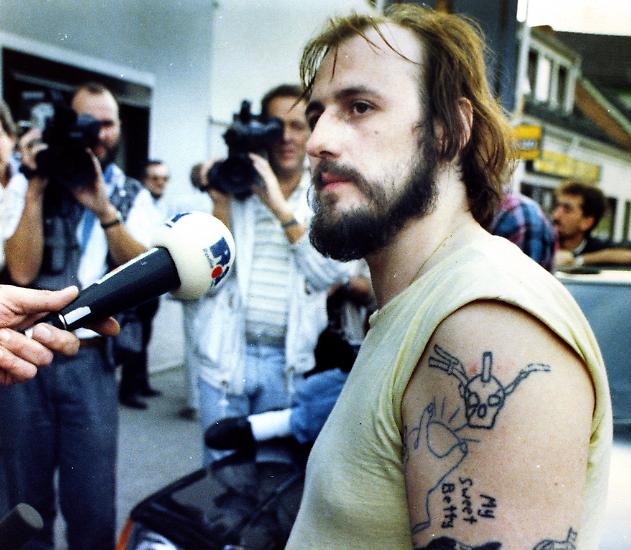 Im Sommer 1988 versetzen diese beiden Männer die Bundesrepublik in Aufruhr: Hans-Jürgen Rösner ...