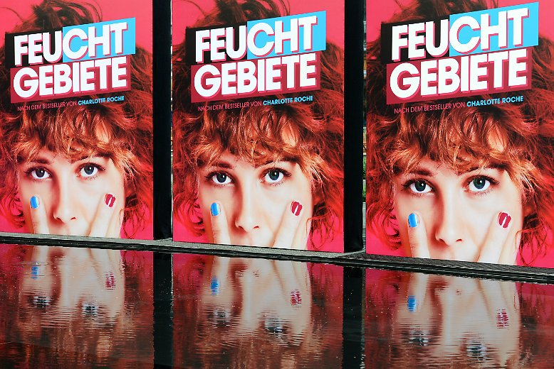 """""""Feuchtgebiete"""" lautete - in jeder Hinsicht - das alles überstrahlende Motto am Dienstabend am Potsdamer Platz in Berlin. Und das lag nicht zuletzt ..."""