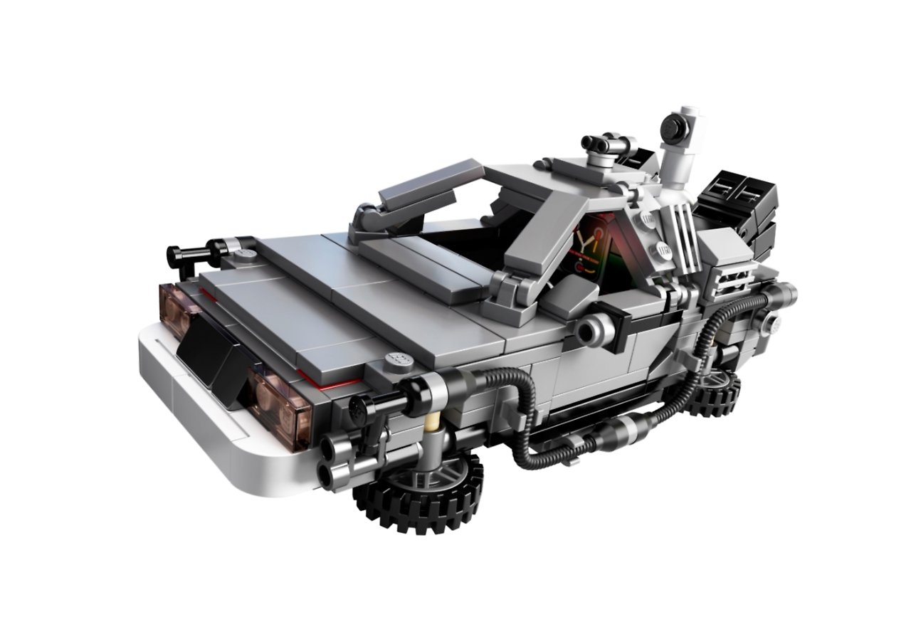 lego bringt freunde des delorean zur ck in die zukunft n. Black Bedroom Furniture Sets. Home Design Ideas