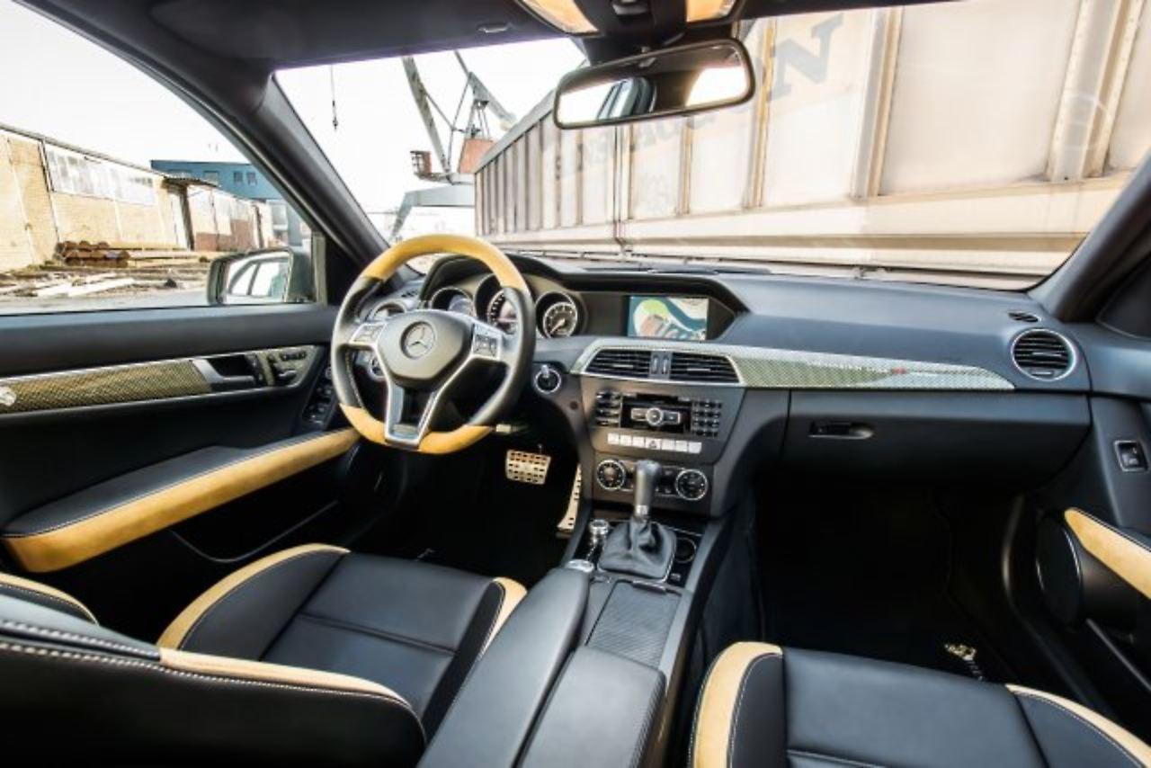 Loewenstein zeigt, was geht: Mercedes C63 AMG im Kraftrausch - n-tv.de