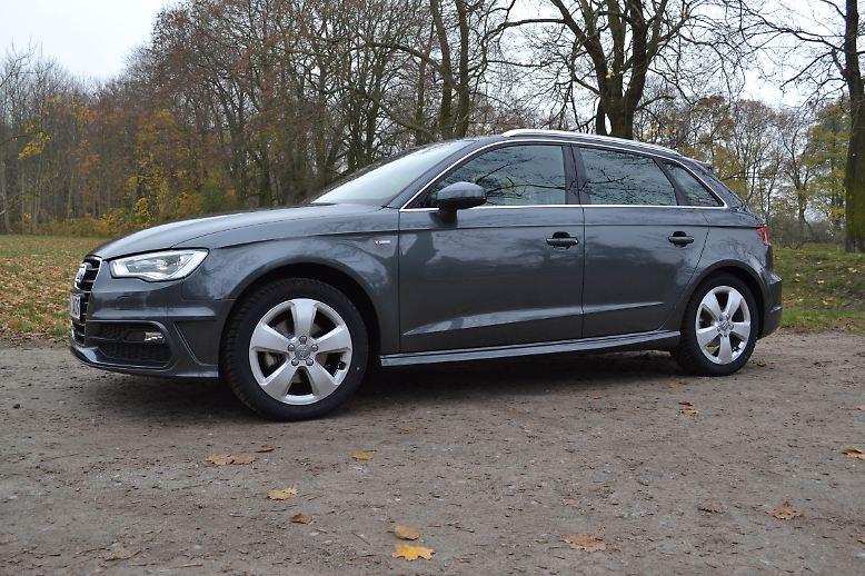 Auf Platz zwei der Lieblingsautos findet sich der Audi A3 wieder. Der gehobene Golf sozusagen.
