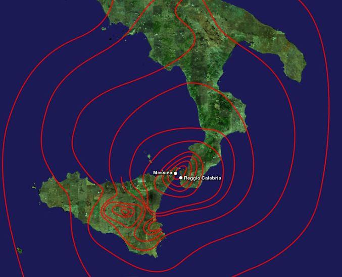 29. Dezember 1908: Messina (Italien). Stärke: 7,5. Es starben 70.000 bis 100.000 Menschen.