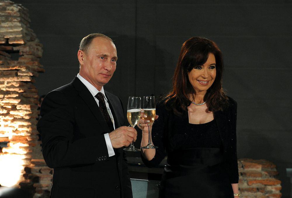 Argentina e Rússia: Rublo e Peso podem ser adotados no comércio