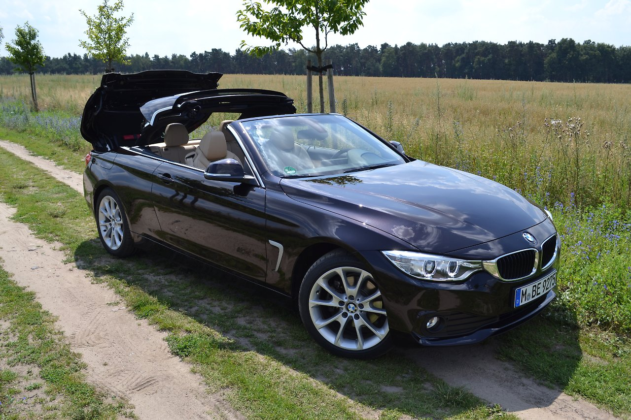 test bmw 420d cabrio auf zuwachs gebaut n. Black Bedroom Furniture Sets. Home Design Ideas