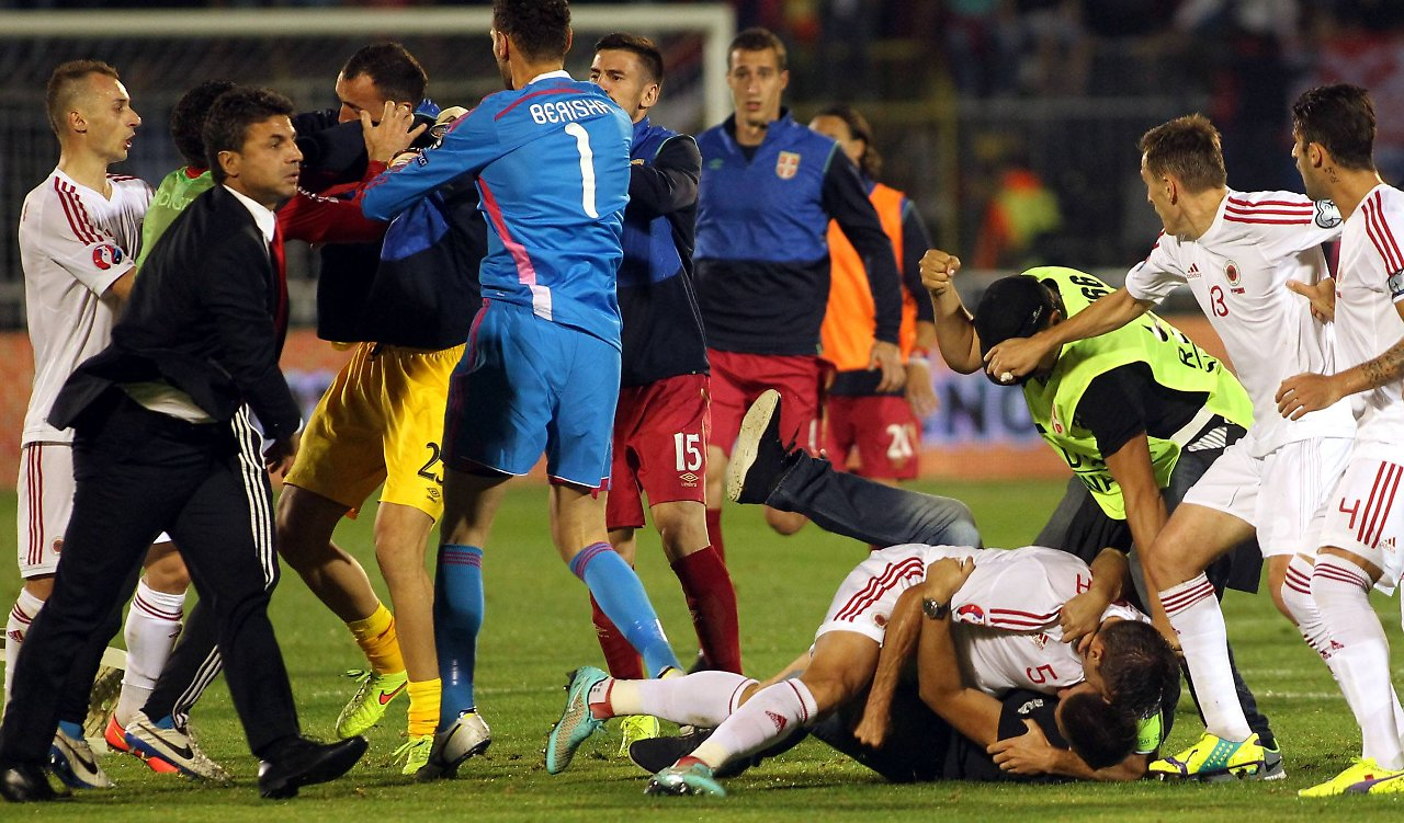 Albanien Fussball Spiele