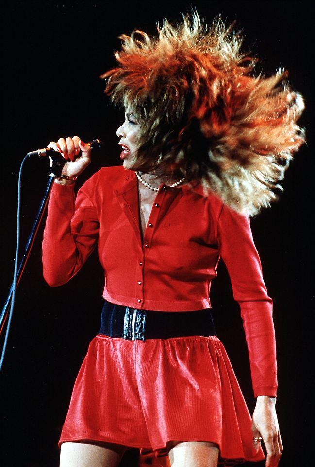 Pin Tina Turner In Diesem Kleid Hat Sie Ja Gesagt on Pinterest