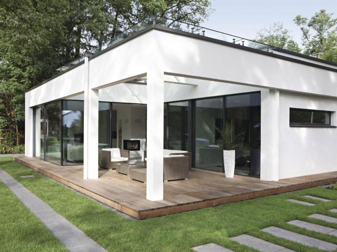 gro z gig wohnen auf einer ebene comeback des bungalows. Black Bedroom Furniture Sets. Home Design Ideas