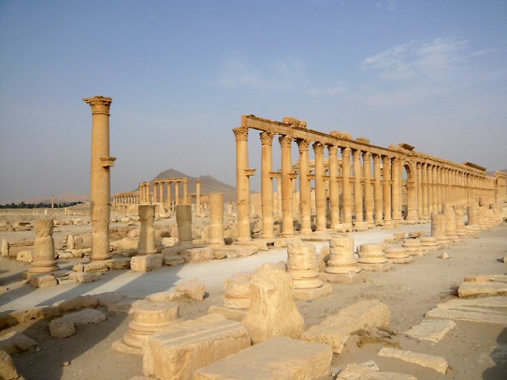 Das syrische Palmyra war eine der schönsten antiken Ruinenstädte der Welt.