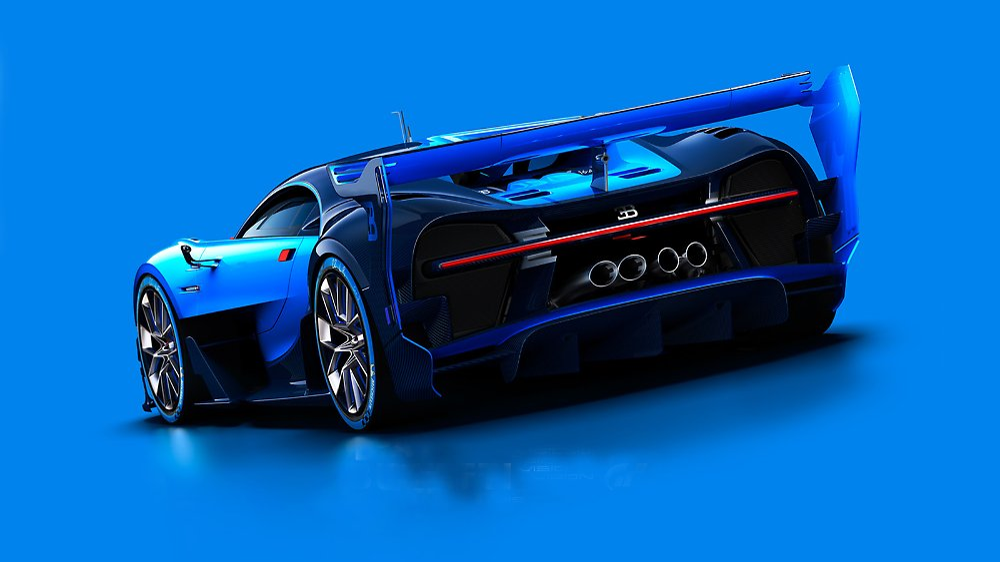 die vision nach dem veyron sieht so der bugatti chiron. Black Bedroom Furniture Sets. Home Design Ideas
