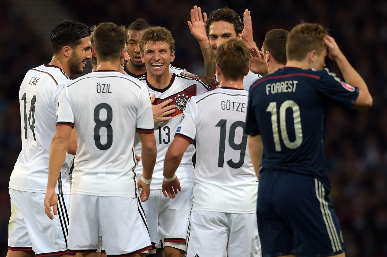 Schottland Deutschland Tv