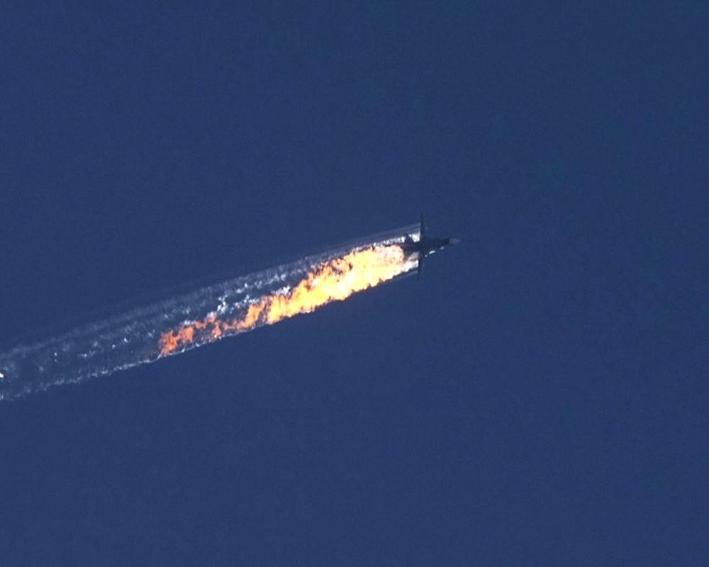 Nach dem abschuss einer su 24 russische bomber fliegen for Fliegen in blumenerde vernichten