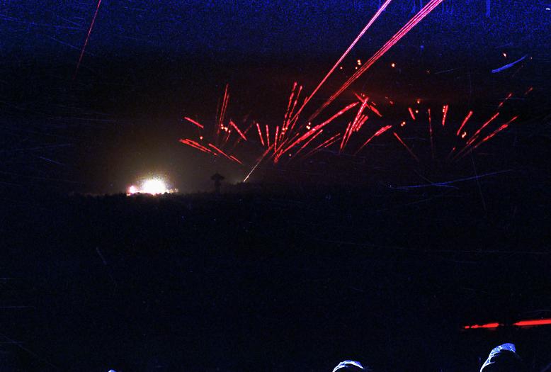 """In der Nacht des 17. Januar 1991 beginnt die """"Operation Wüstensturm""""."""
