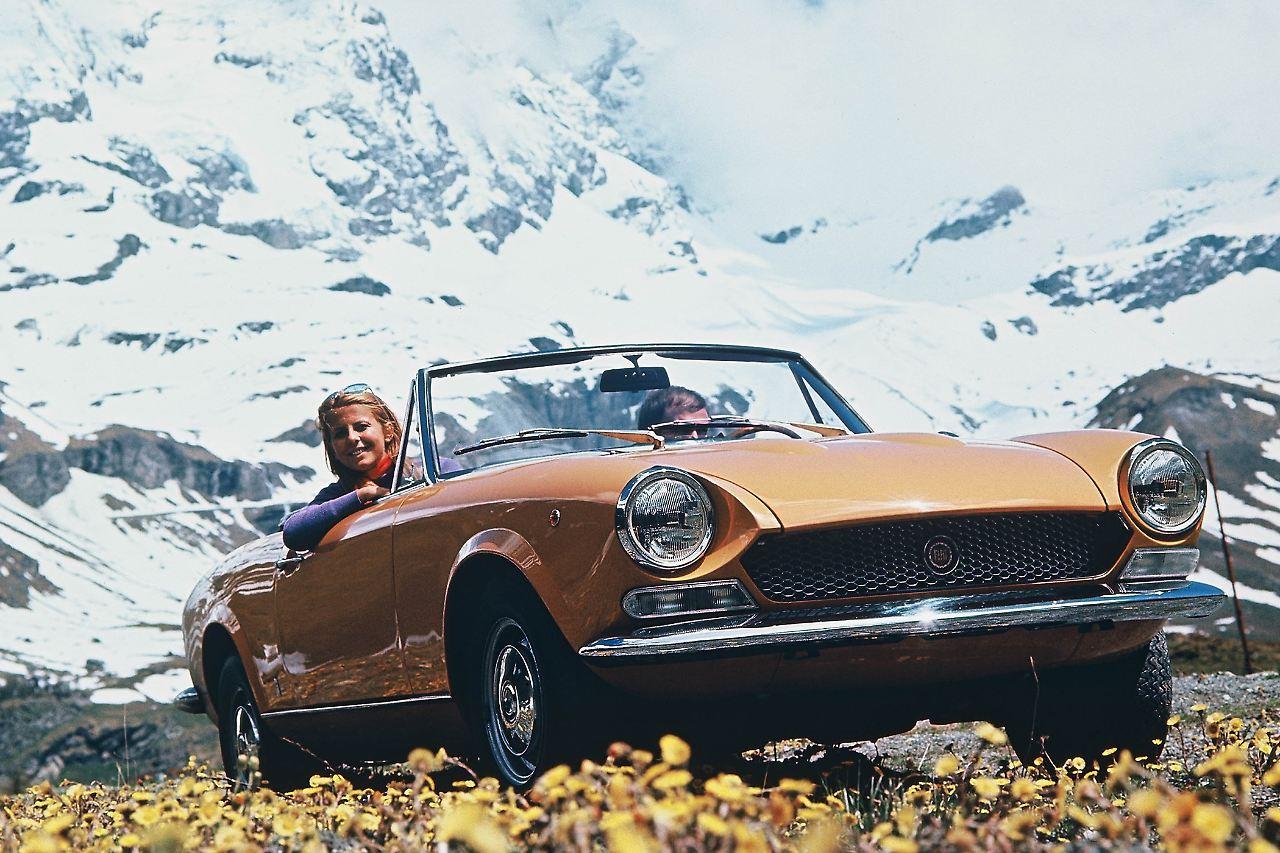 Das Dolce Vita Feeling 50 Jahre Fiat 124 Sehnsucht Nach Sonne N 1970 Spider Convertible Fast 20 War Der In Seiner Klasse Unschlagbar