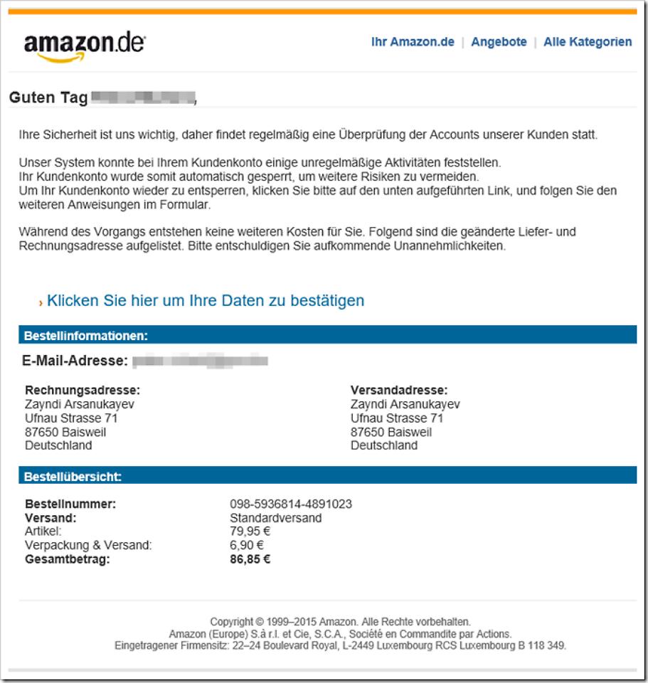 amazon mail