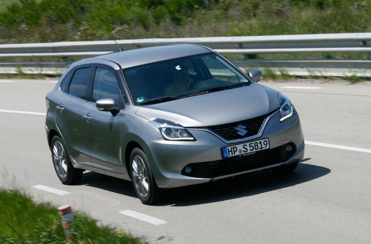 An Der Schwelle Zum Kompaktsegment Sucht Suzuki Baleno Neue Kunden