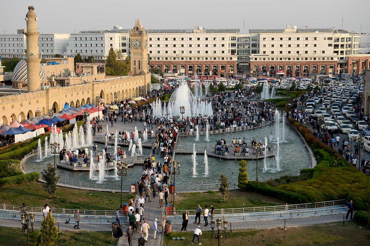 Hauptstadt Von Kurdistan