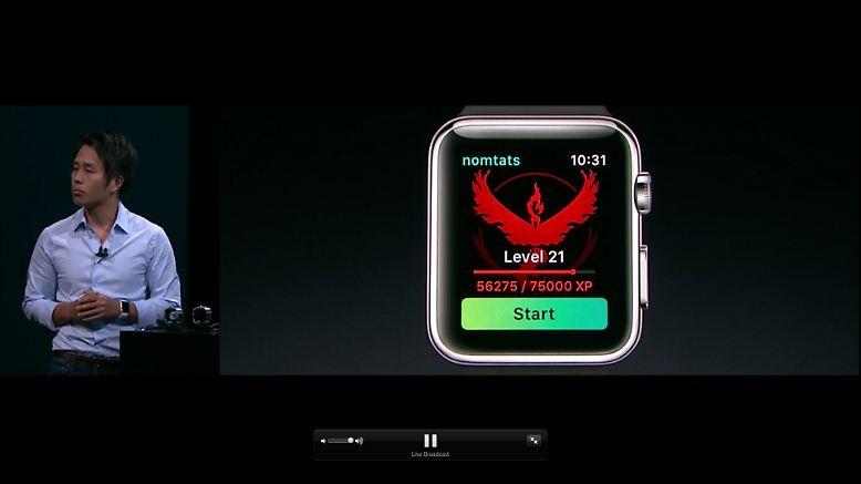 Erster Gast beim Apple-Abend: Die neue Smartwatch. Die Apple Watch 2 bekommt eine eigene Pokémon-Go-App und ...