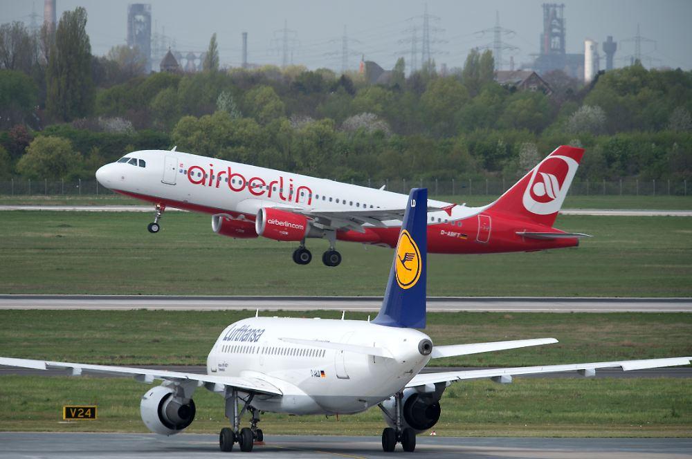 ... in Sicht: Lufthansa übernimmt Teil der Air Berlin-Flüge - n-tv.de