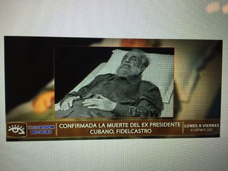 Nun also hat er seinen letzten Kampf verloren. Der Máximo Lider, der so lange unsterblich schien, ist tot.
