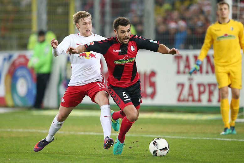 RB Leipzig - SC Freiburg 4:1 (3:1)
