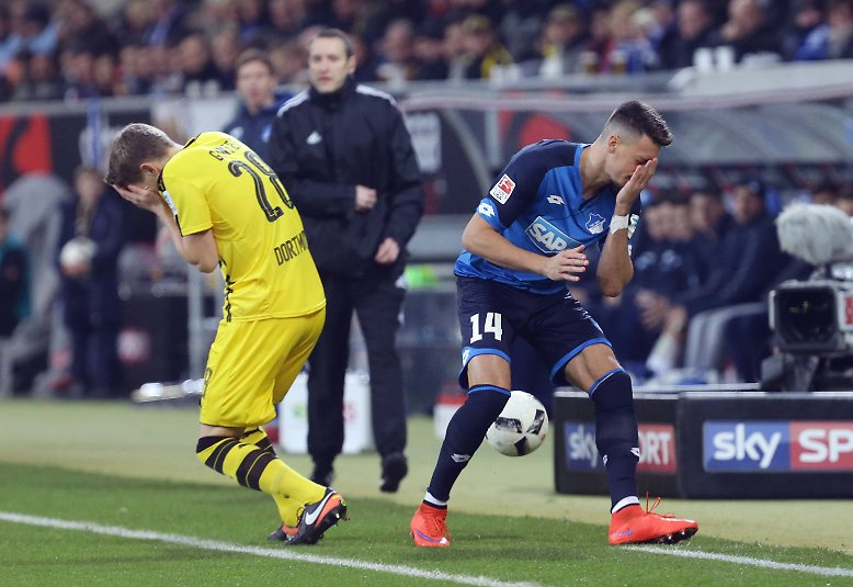 1899 Hoffenheim - Borussia Dortmund 2:2 (2:0)
