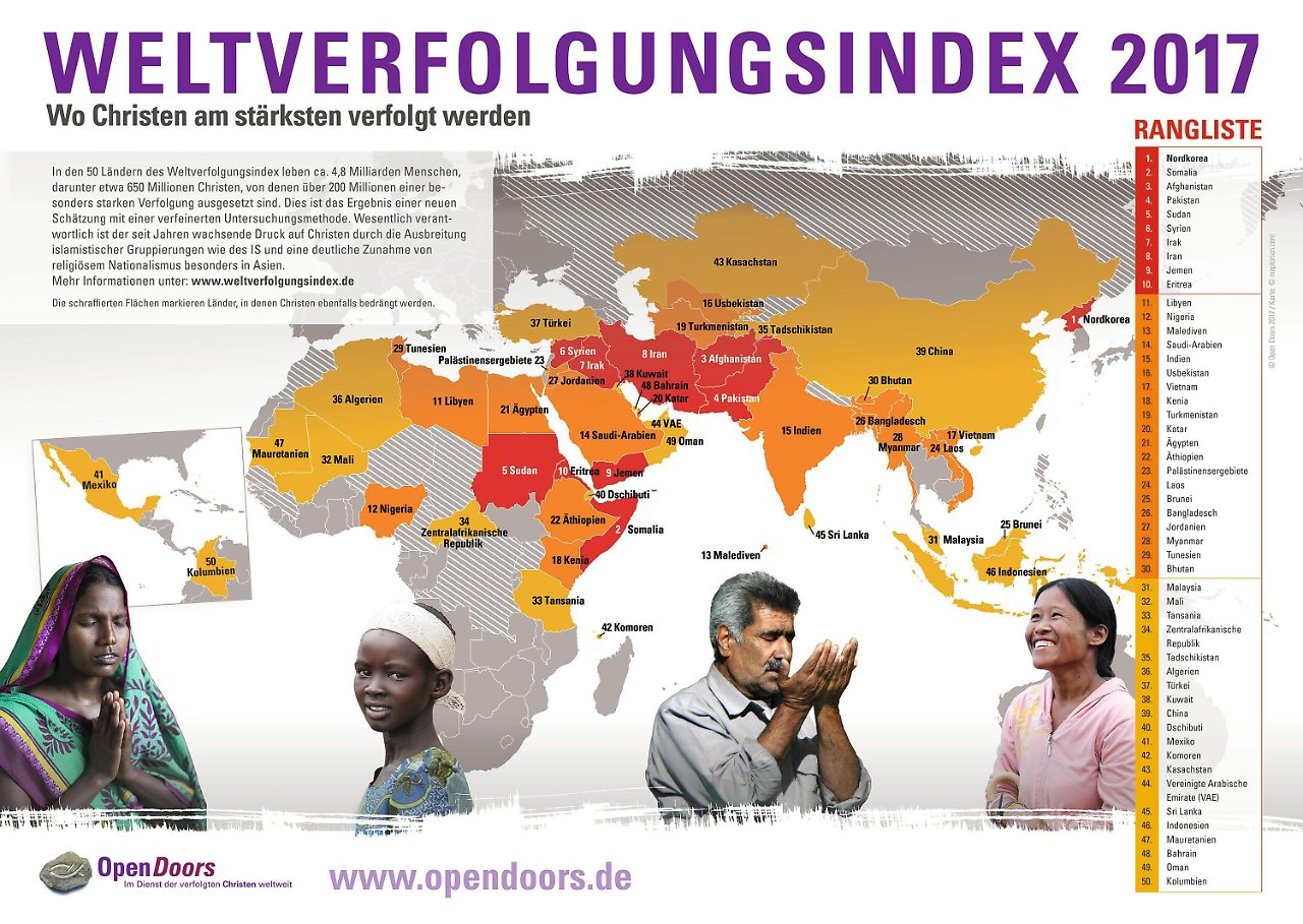 Christenverfolgung Weltweit